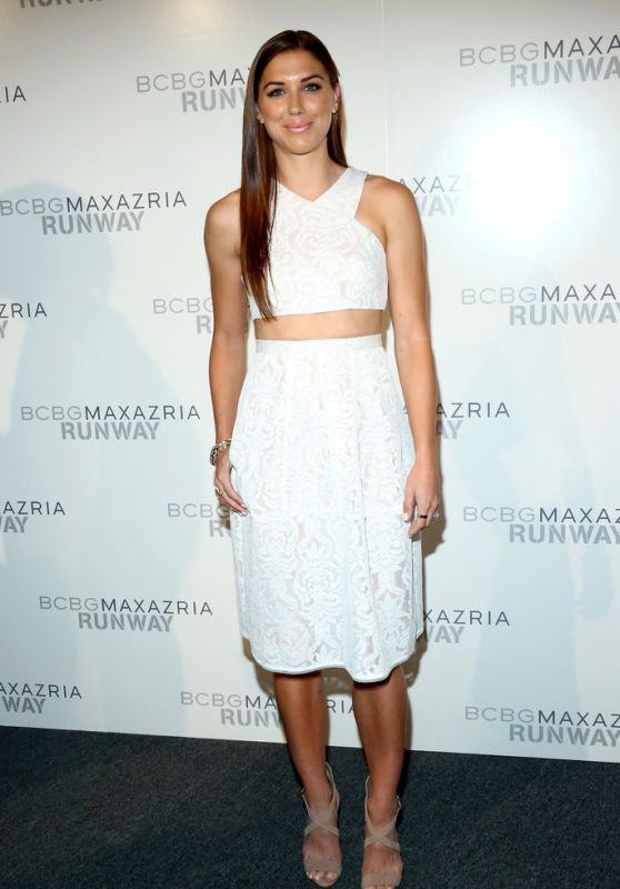 Alex Morgan - BCBGMAXAZRIA Fashion Show - Spring 2016 NYFW in NYC