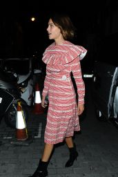 Alexa Chung - Love Magazine Party at Lou Lou