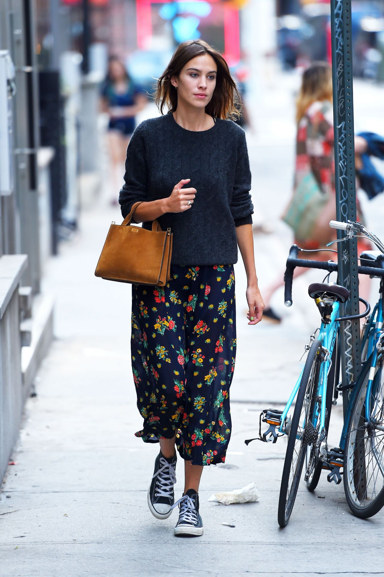 Alexa Chung Out And About In Nyc August 2015