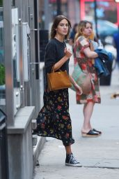 Alexa Chung - Out and About in NYC, August 2015