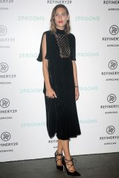 Alexa Chung - Refinery29 Presentation of 29Rooms in Brooklyn, September 2015