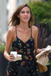 Alexa Chung Summer Style - Out in NYC, August 2015