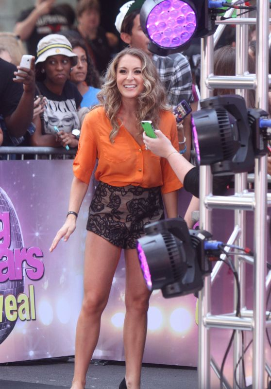 Alexa Penavega at Good Morning America in NYC, September 2015