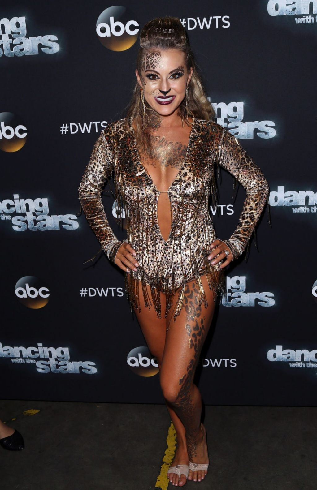 Alexa Penavega At The Dancing With The Stars Photo Op At
