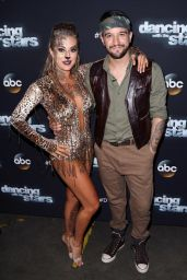 Alexa PenaVega at the Dancing With the Stars Photo op at CBS Studios in Los Angeles, September 2015