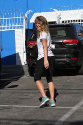 Alexa PenaVega at the DWTS Studio in Hollywood, August 2015