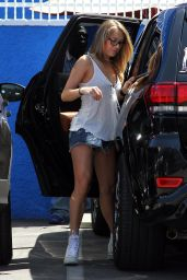 Alexa PenaVega - DWTS Studio in Hollywood, September 2015