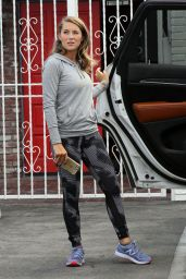 Alexa PenaVega in Tights - DWTS Studio, September 2015