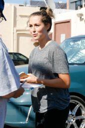 Alexa Vega in Leggings - Arriving at Dwts Studio, September 2015