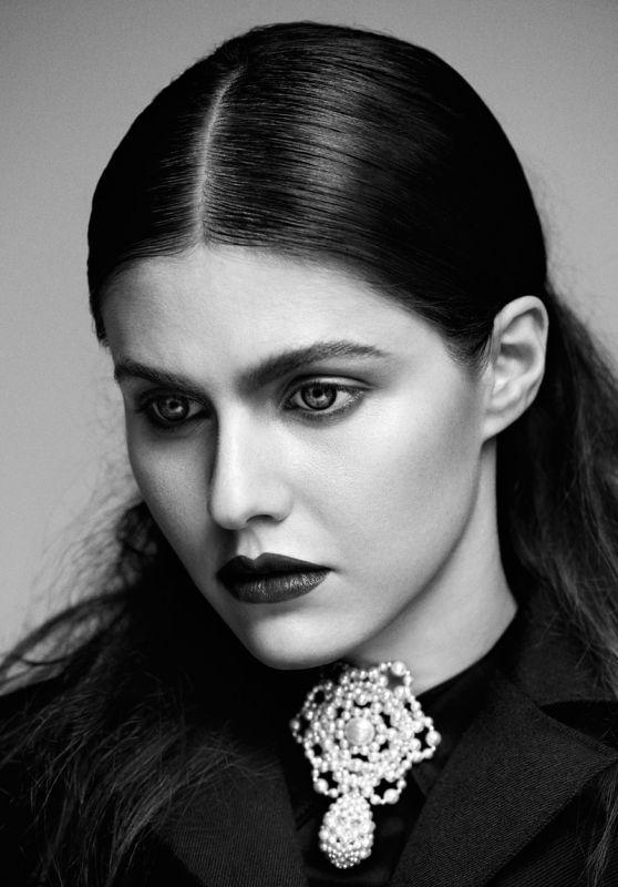 Alexandra Daddario - Flaunt Magazine Issue 142