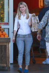 Alice Eve at Bristol Farms in West Hollywood, September 2015