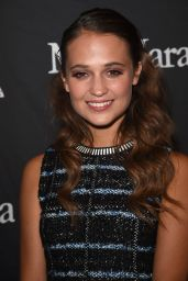 Alicia Vikander - InStyle & HFPA Party - 2015 Toronto International FF