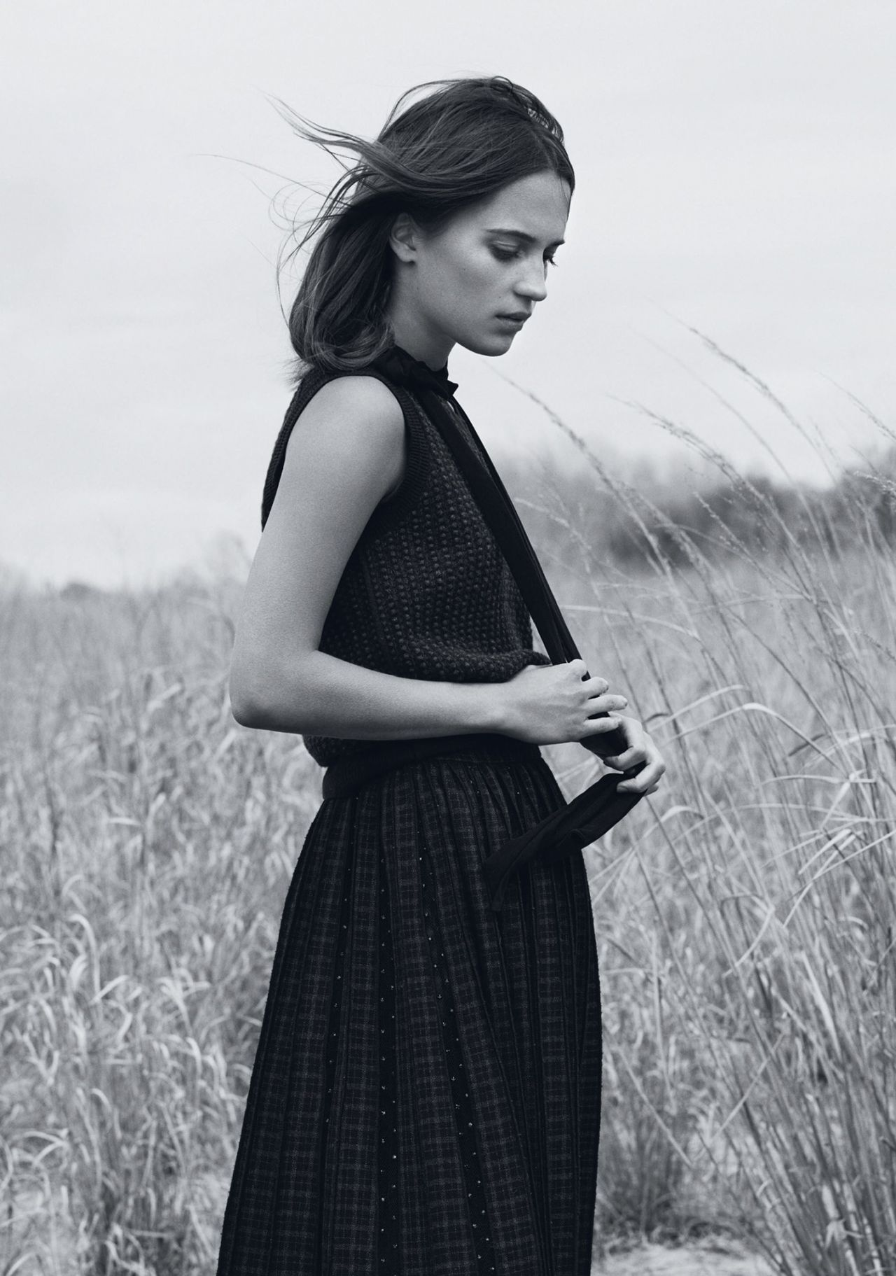 Alicia Vikander Instyle Magazine August 2015 Issue