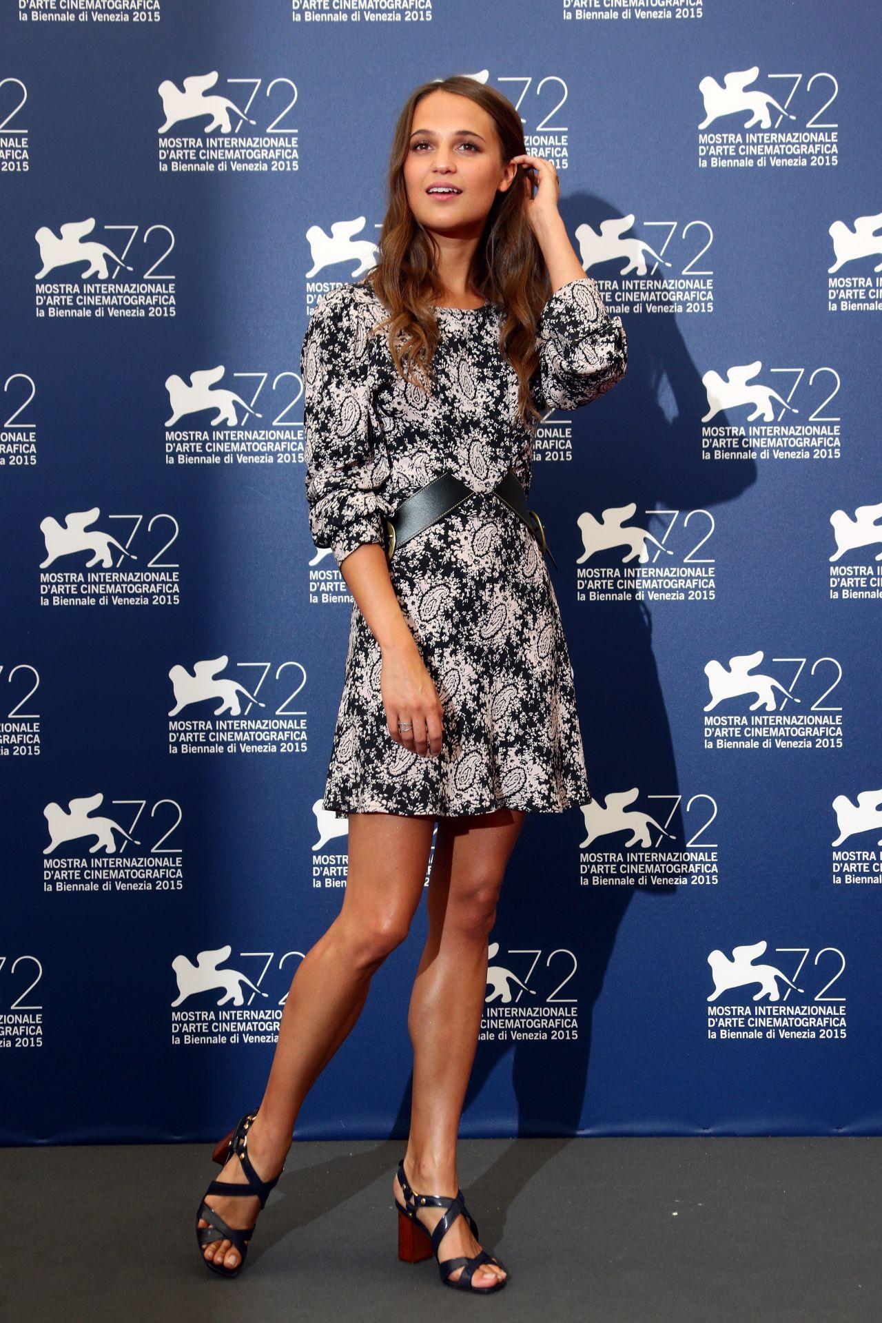 Alicia Vikander The Danish Girl Photocall 72nd