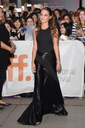 Alicia Vikander - The Danish Girl Premiere at Toronto International Film Festival