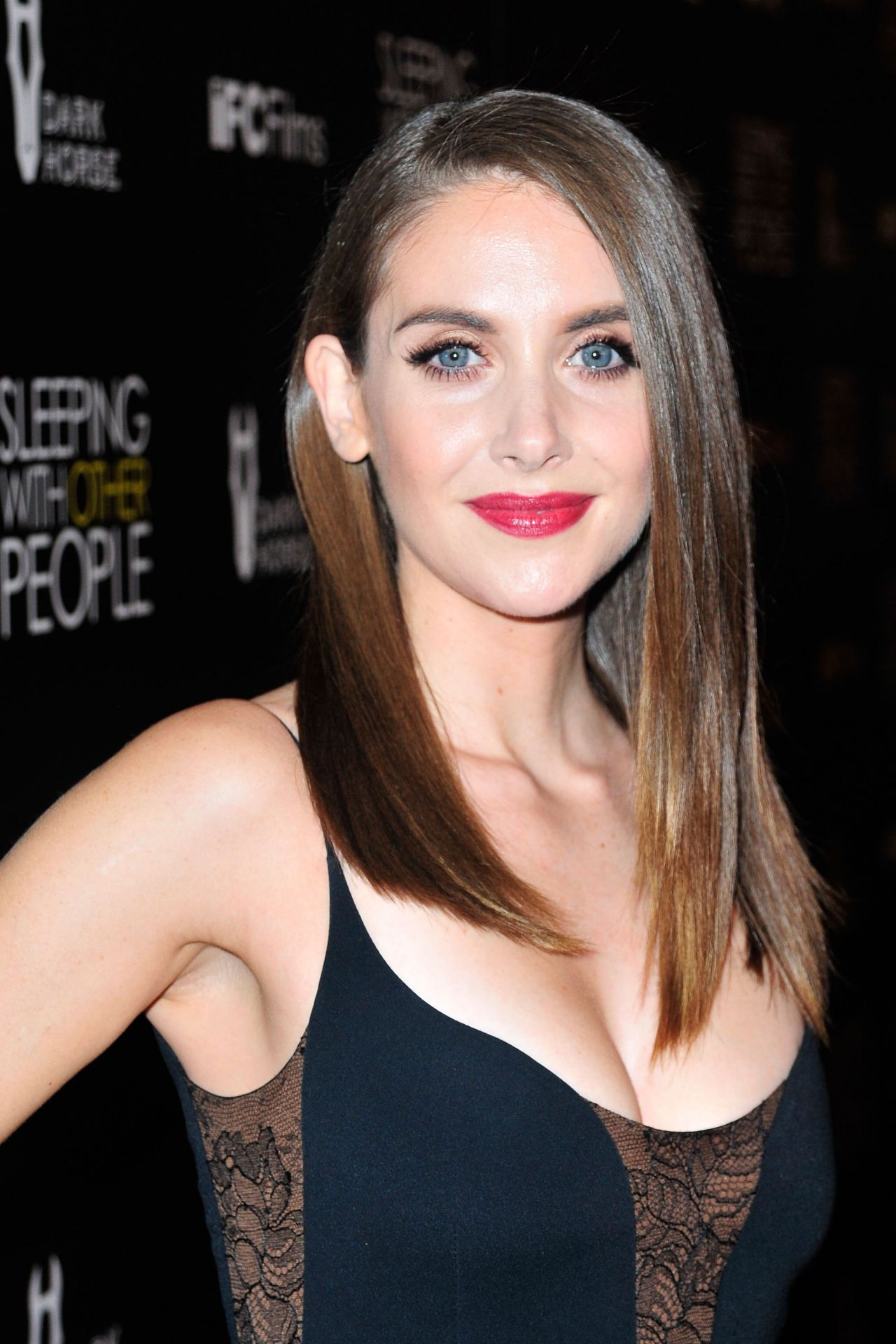Alison Brie Sleeping With Other People Premiere In