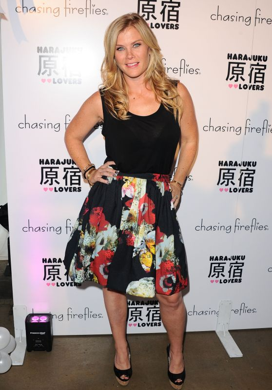 Alison Sweeney - Chasing Fireflies And Gwen Stefani Present Harajuku Lovers Fall 2015 Collection in West Hollywood