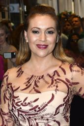 Alyssa Milano - Marchesa Show - New York Fashion Week, September 2015