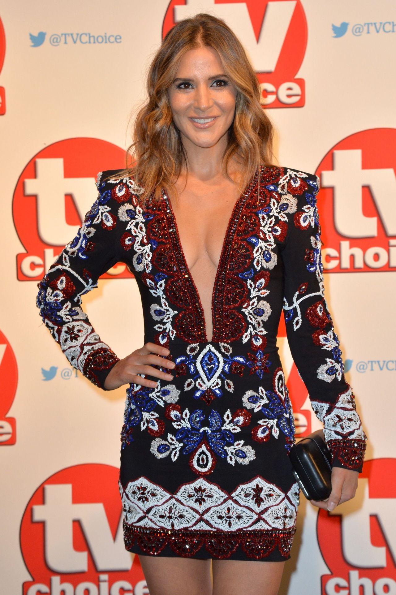 Amanda Byram – TV Choice Awards 2015 in London