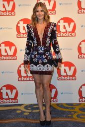 Amanda Byram - TV Choice Awards 2015 in London