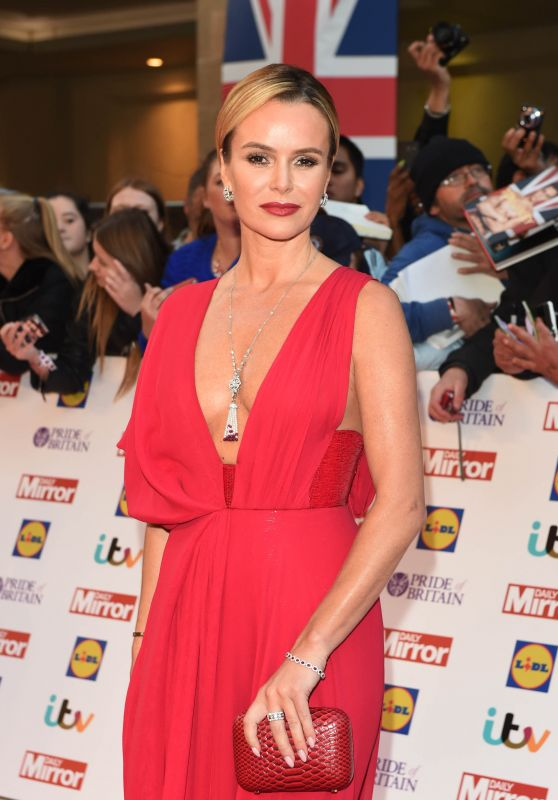 Amanda Holden - Pride of Britain Awards 2015 in London