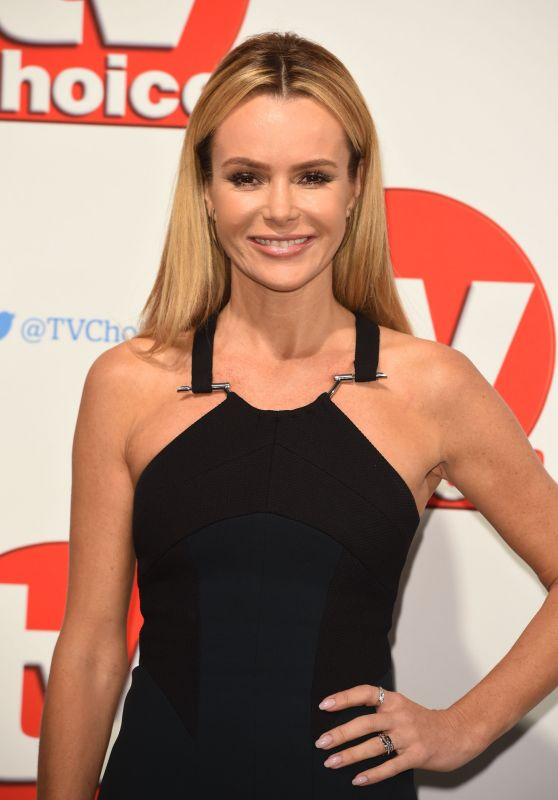 Amanda Holden - TV Choice Awards 2015 in London
