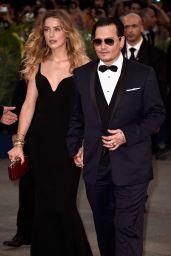 Amber Heard and Johnny Depp -