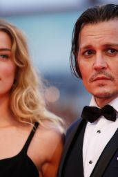 Amber Heard and Johnny Depp -