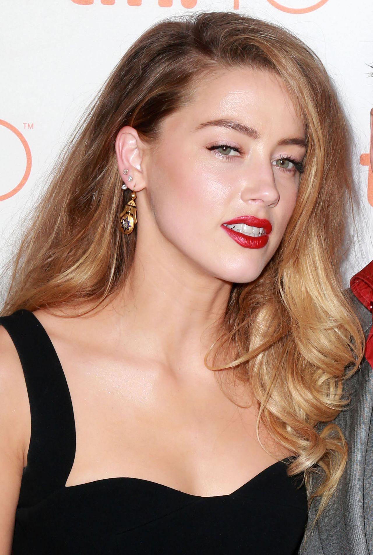 Amber Heard Black Mass Premiere 2015 Tiff