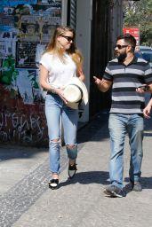 Amber Heard - Out in Rio de Janeiro, September 2015
