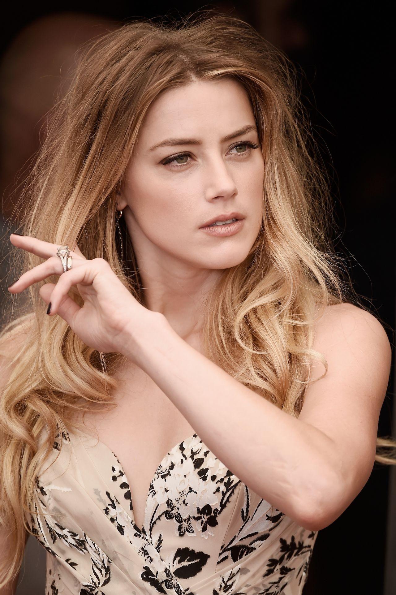 Amber Heard The Danish Girl Photocall 72nd Venice