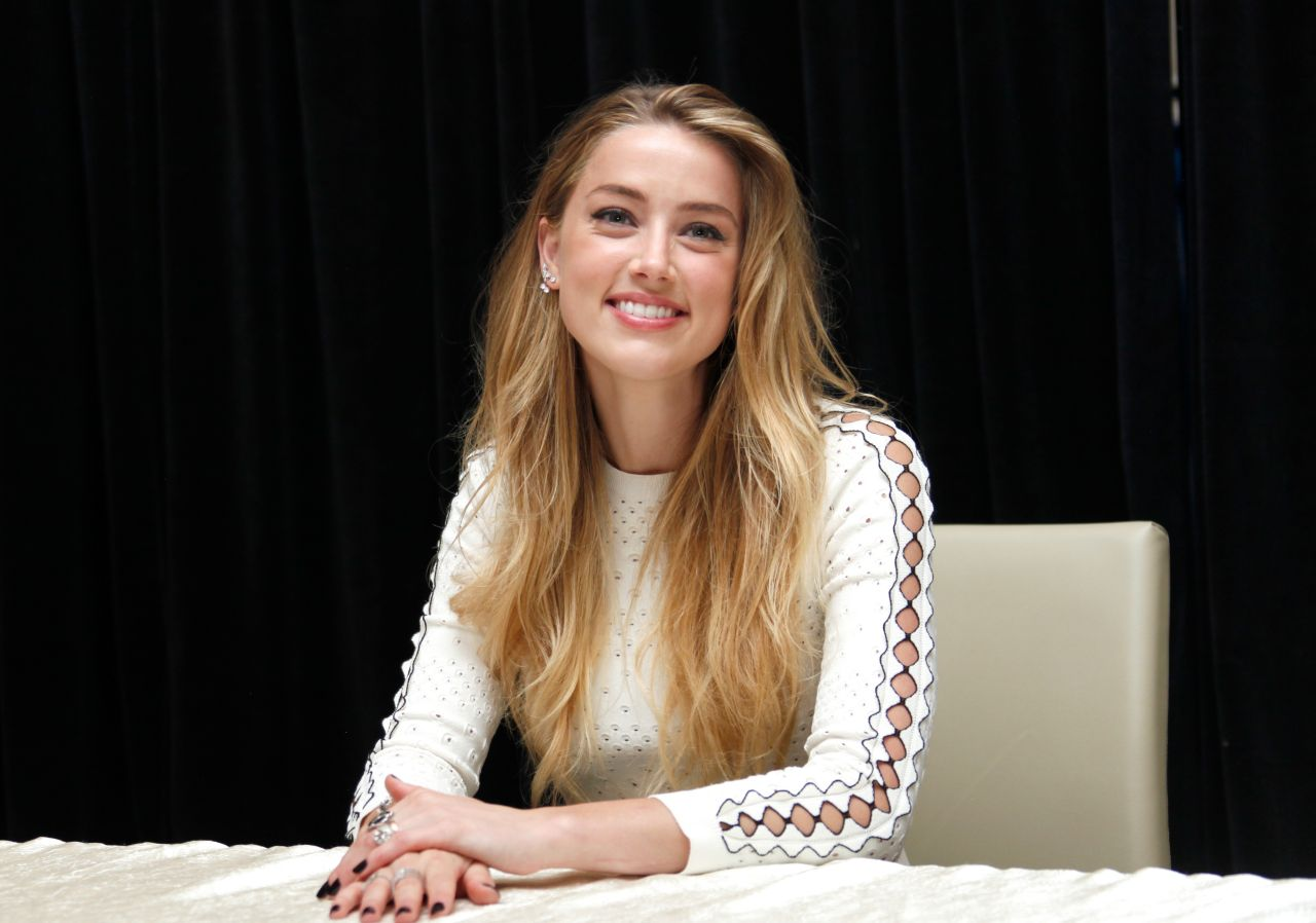 Amber Heard The Danish Girl Photocall Tiff 2015