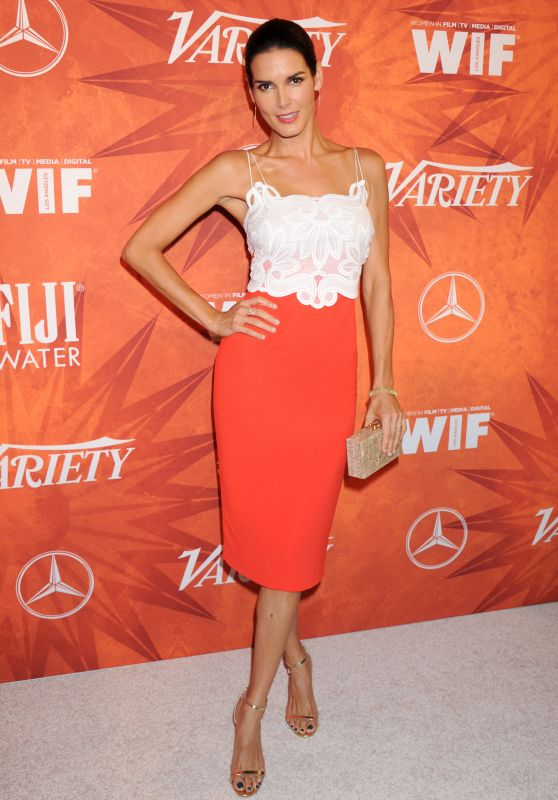 Angie Harmon – 2015 Variety And Women In Film Pre-Emmy Celebration in West Hollywood