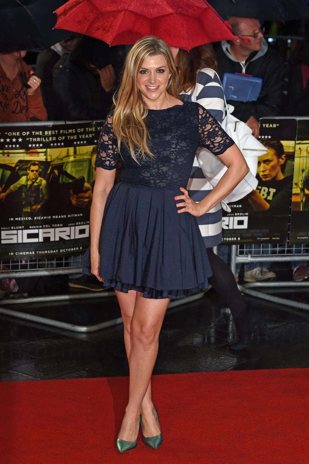 Anna Williamson Sicario Premiere In London