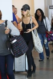 AnnaLynne McCord - LAX Airport, September 2015