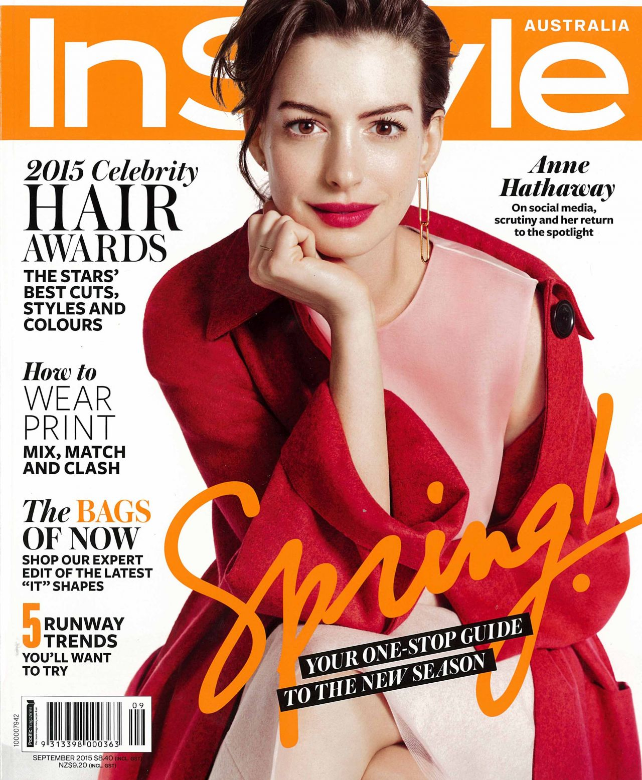 Fashion week Hathaway anne instyle september for woman