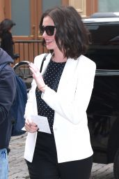 Anne Hathaway - Out in New York City, September 2015
