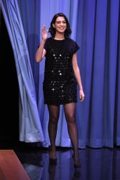 Anne Hathaway - The Tonight Show Starring Jimmy Fallon in NYC, September 2015