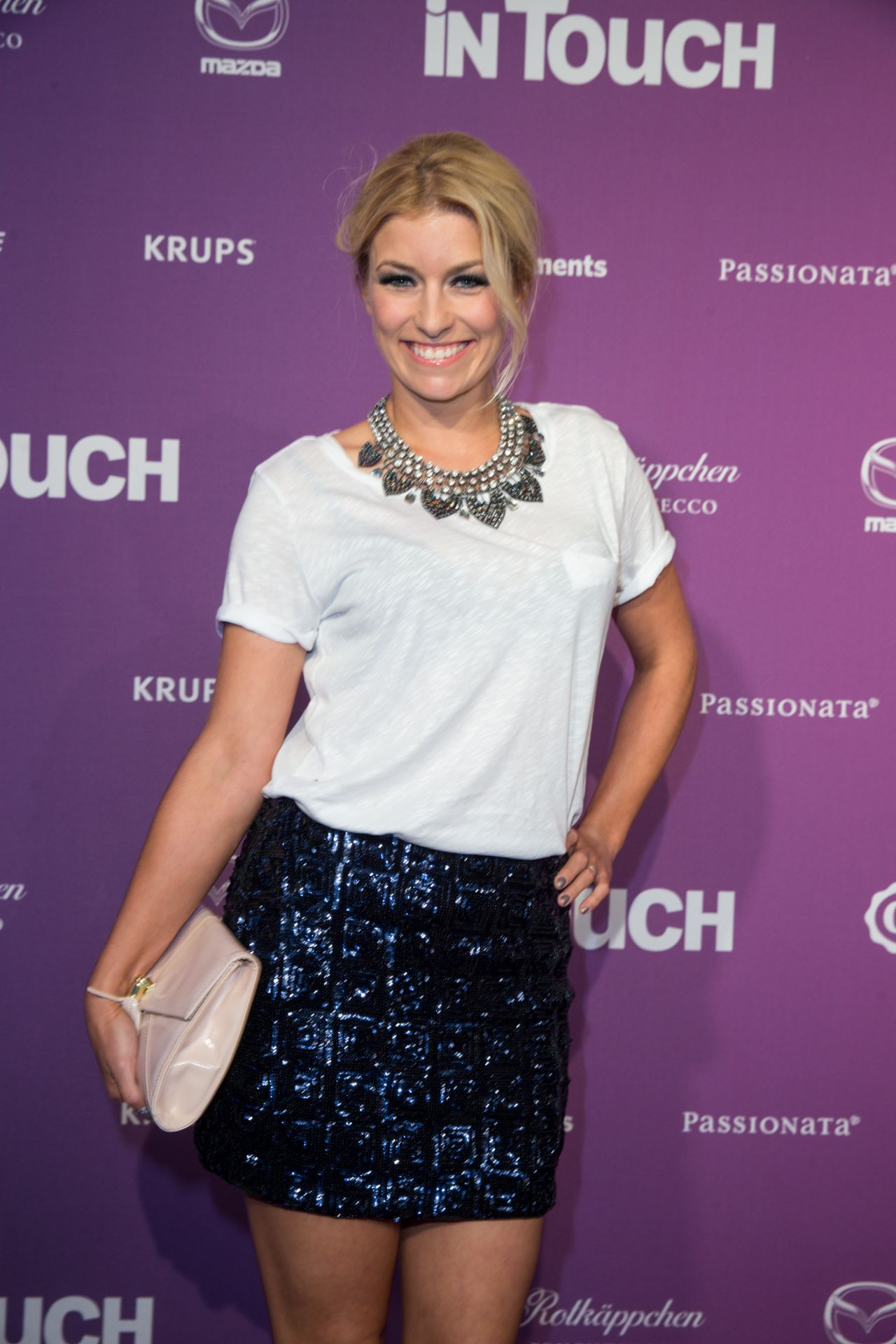 Annica Hansen – Icons & Idols No. 3 Event for the 10th Anniversary of InTouch Magazine in Düsseldorf