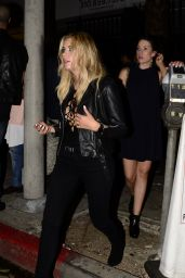 Ashley Benson at the Warwick Night Club in Hollywood, September 2015