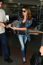Ashley Greene at LAX Airport - September 2015