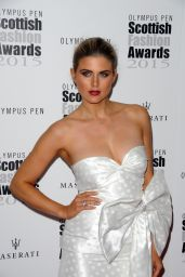 Ashley James - 2015 Scottish Fashion Awards in London