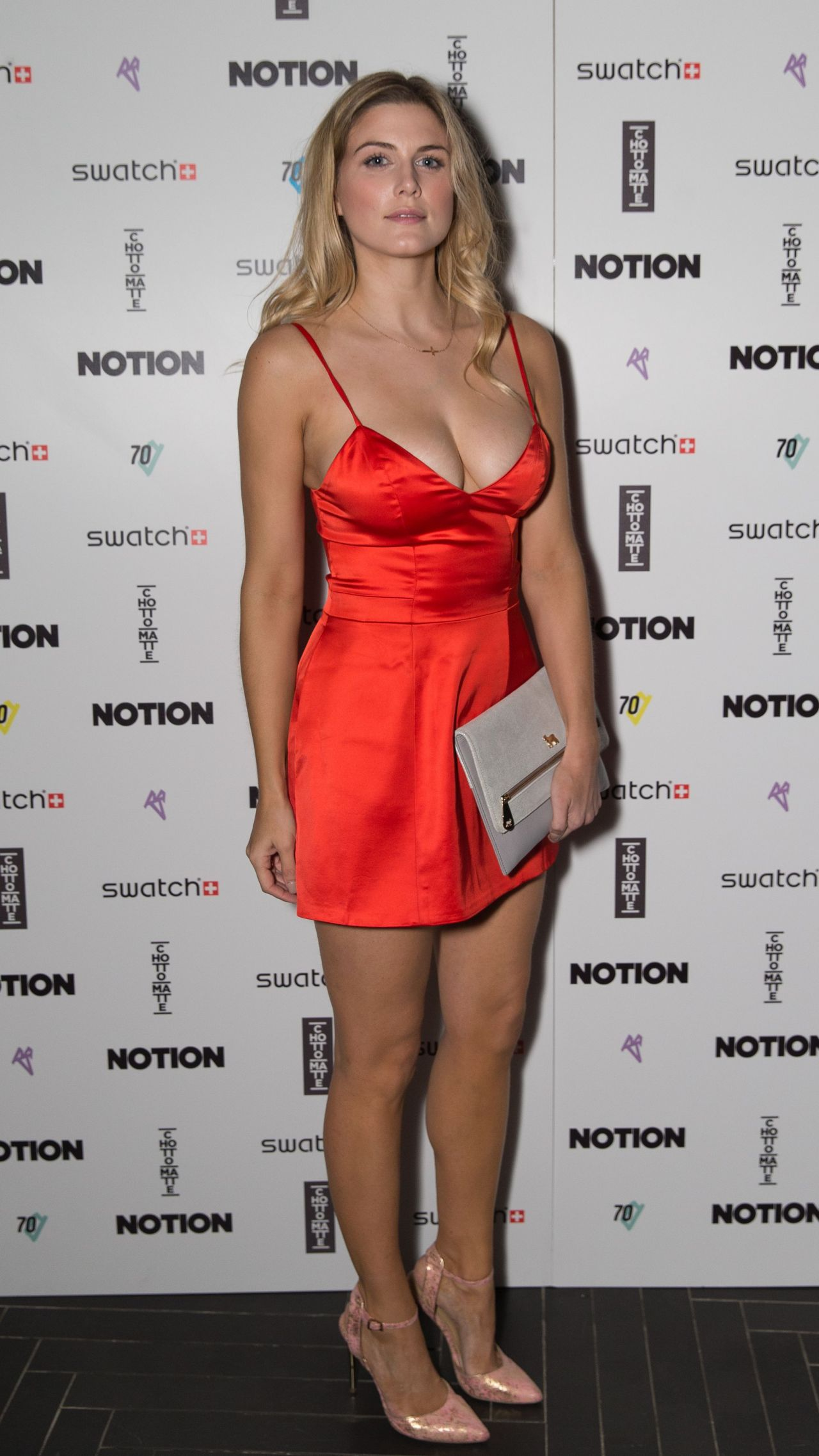 Ashley James Hot Style - Notion Magazine X Swatch Issue 70 Launch Party in London • CelebMafia