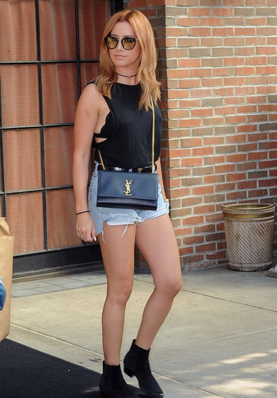 Ashley Tisdale Out in New York City, September 2015
