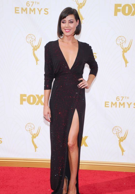 Aubrey Plaza – 2015 Primetime Emmy Awards in Los Angeles