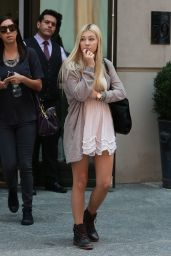 Ava Sambora Out in NYC, September 2015