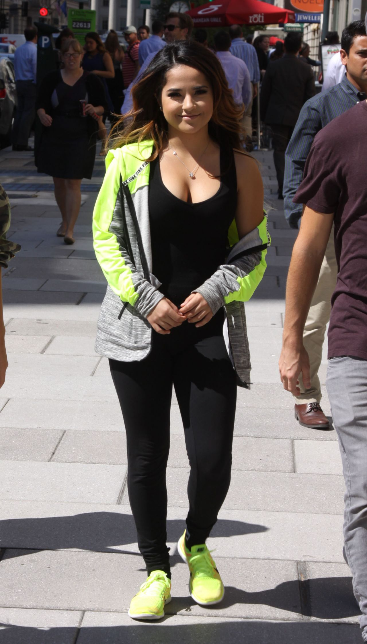 Becky G Out In Washington Dc September 2015
