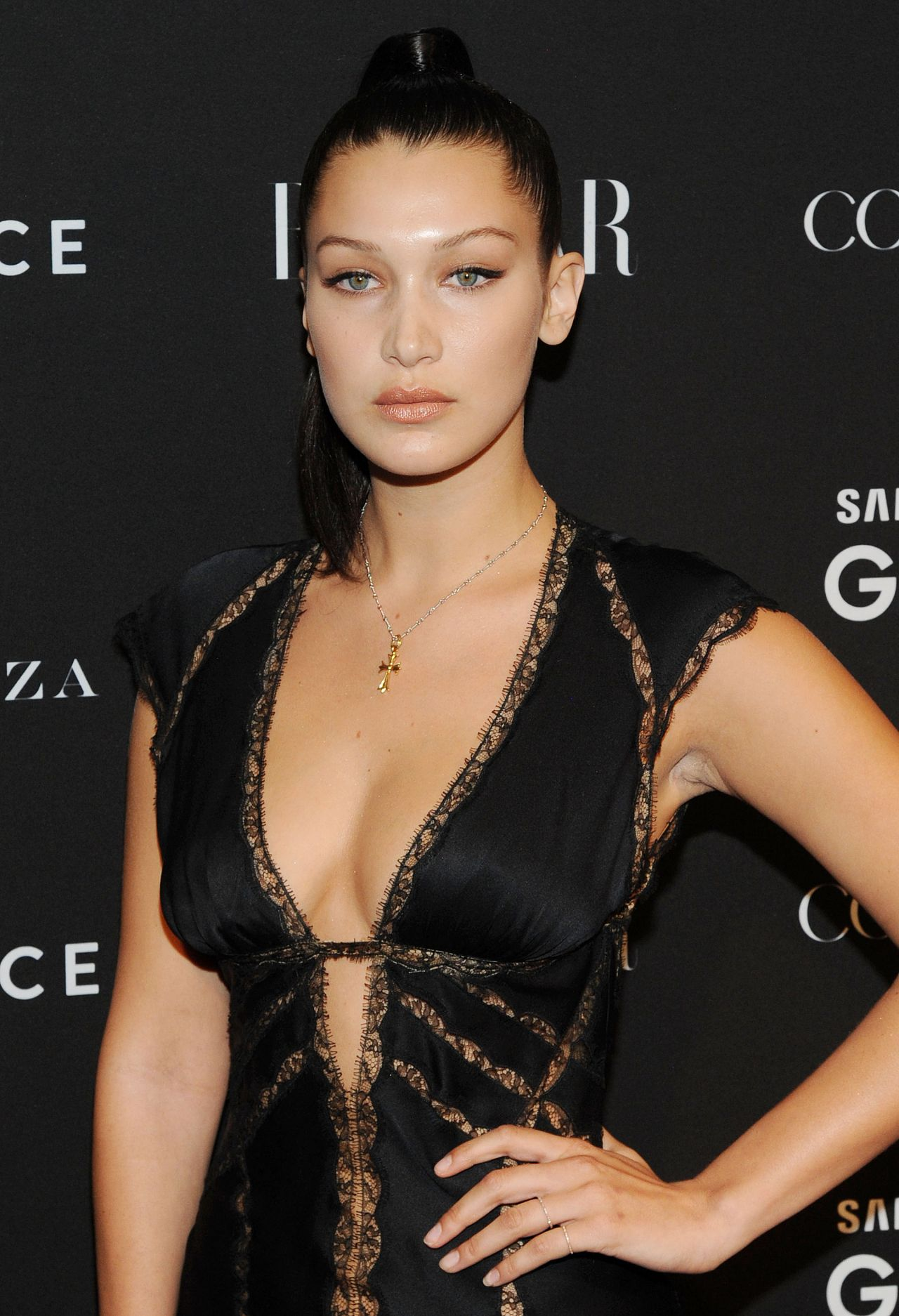 Bella Hadid 2015 Harper S Bazaar Icons Event In New York