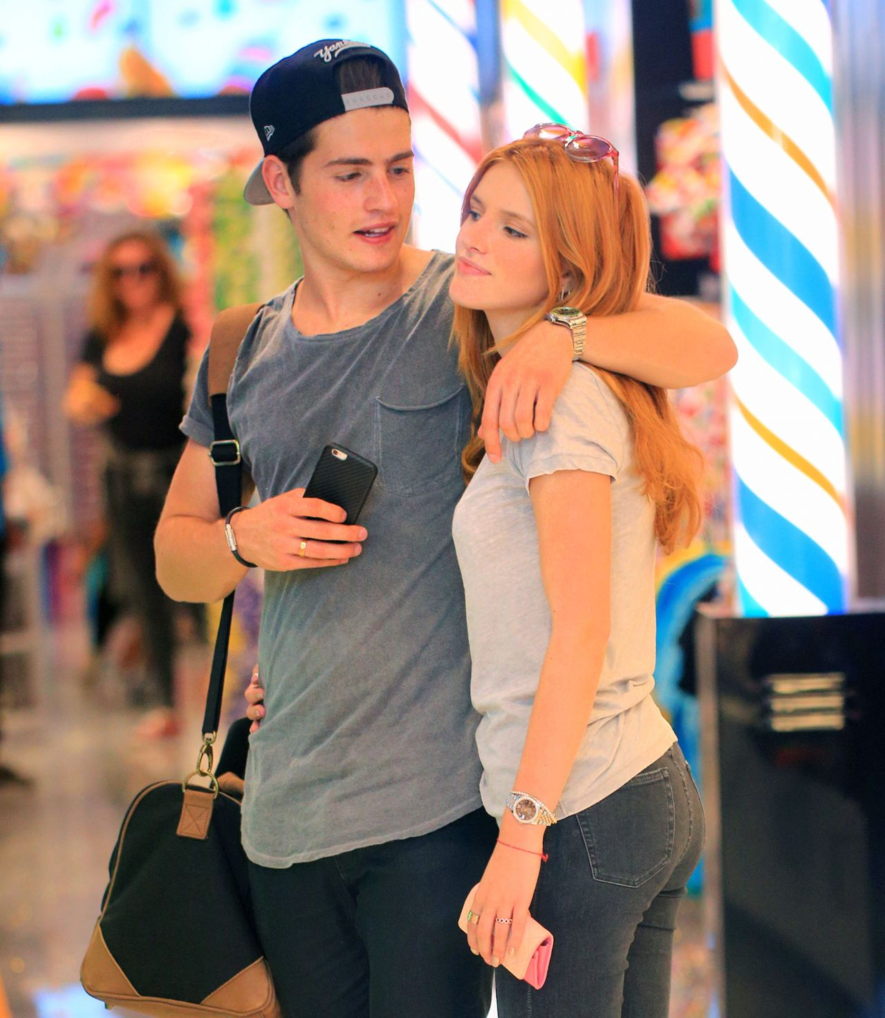 Bella Thorne And Boyfriend Gregg Sulkin Out And About In