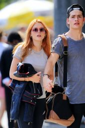 Bella Thorne and boyfriend Gregg Sulkin Out and About in NYC, September 2015